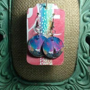Jewelry - Colorful Art Earrings